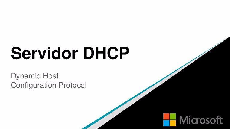 Configuración Servidor DHCP