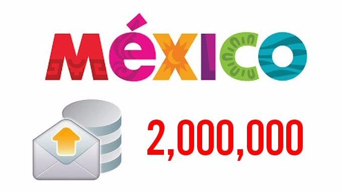 2 Millones de e-mails de todo México