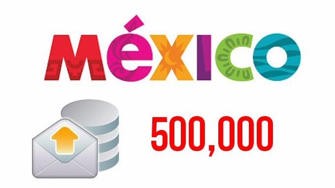 500,000 e-mails de empresas en todo México