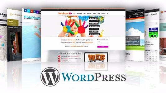 Desarrollo de Páginas Web en Wordpress