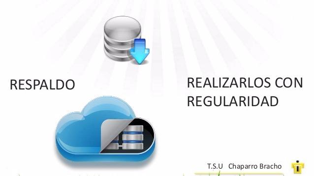 Respaldo de Bases de Datos SQL, Oracle y MySql