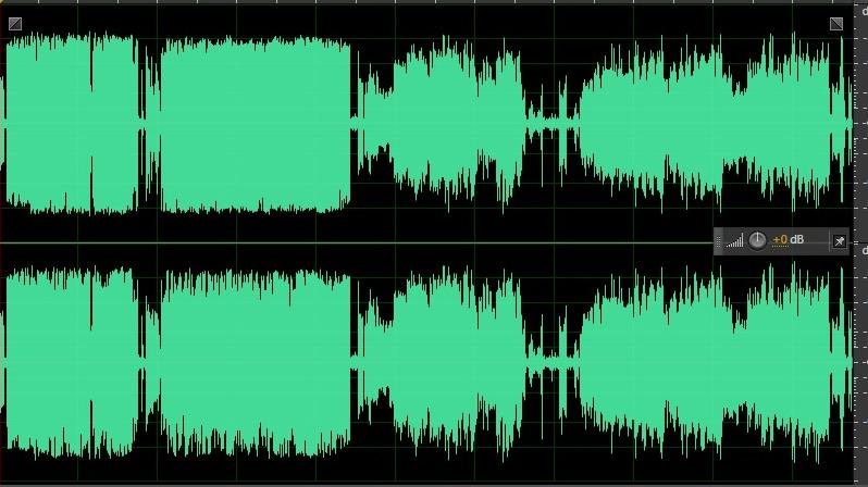 Spot de audio