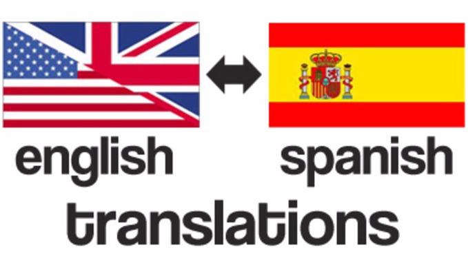 Traducciones Español-Inglés - Por Cuartilla (Servicio Exprés)