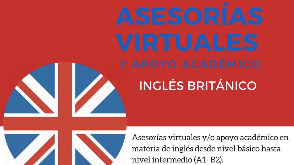 Asesorías virtuales de Inglés