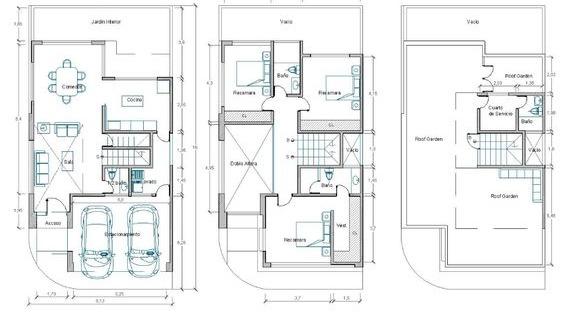 Planos arquitectonicos annieguzman for Ejes arquitectonicos