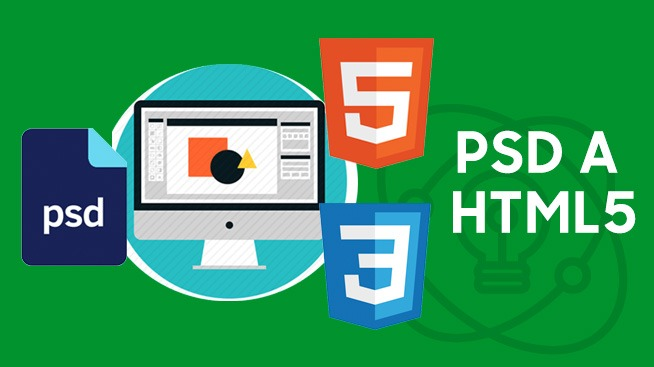 PSD a HTML5