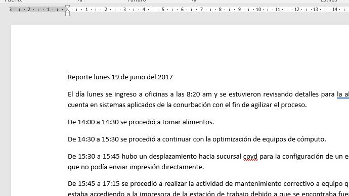Transcripción de documentos PDF o JPG a Word
