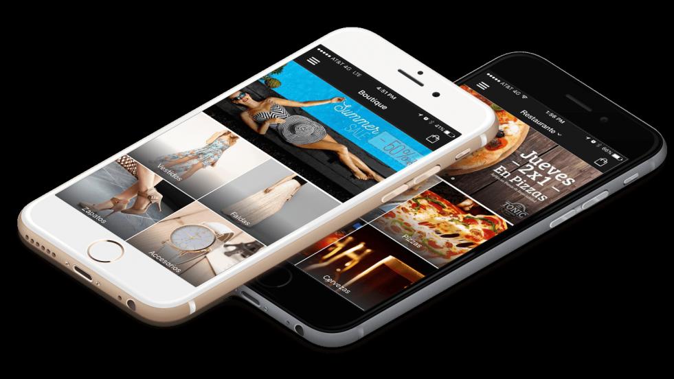 Configuración de tu propia app para Restaurante.