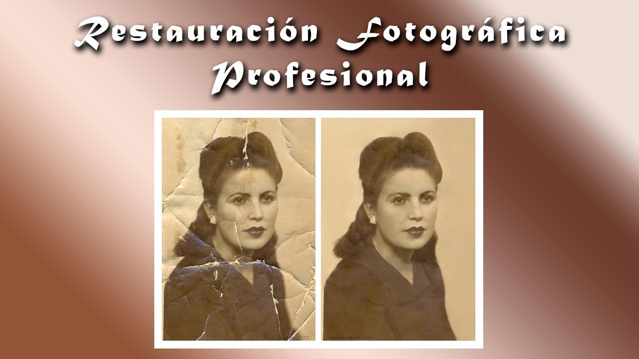 Restauración Fotográfica