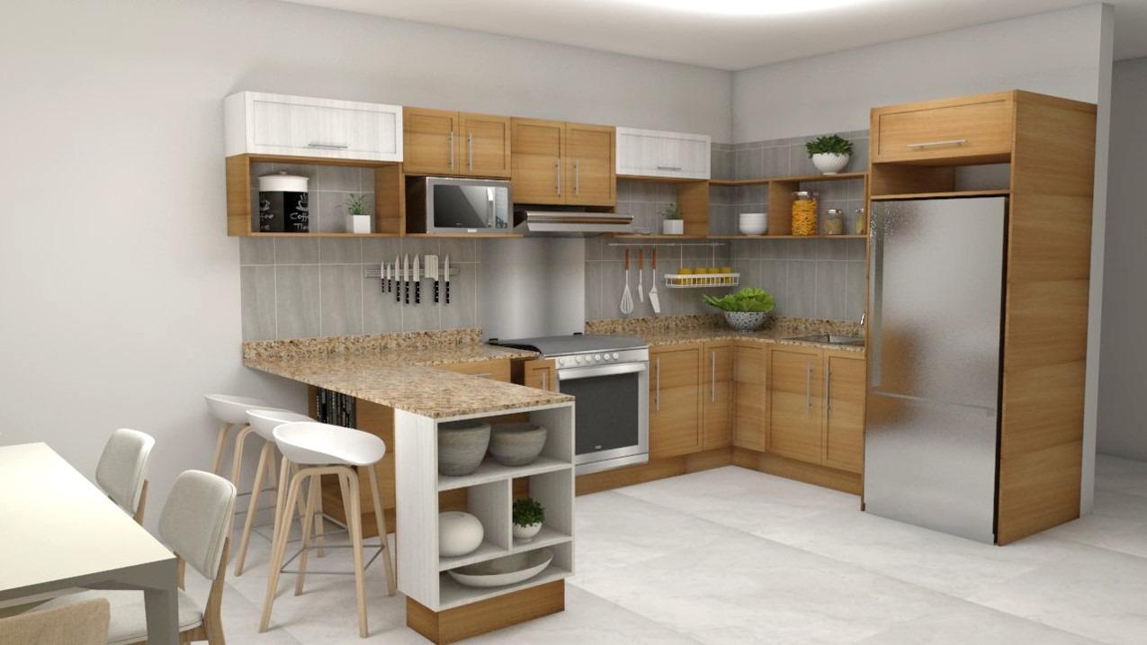 Diseño de Cocina Integral | Nubia24