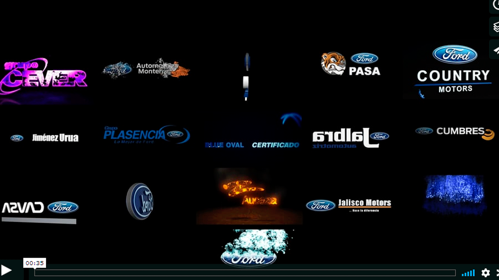 Animación de logotipo