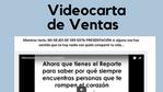 Videocarta de ventas