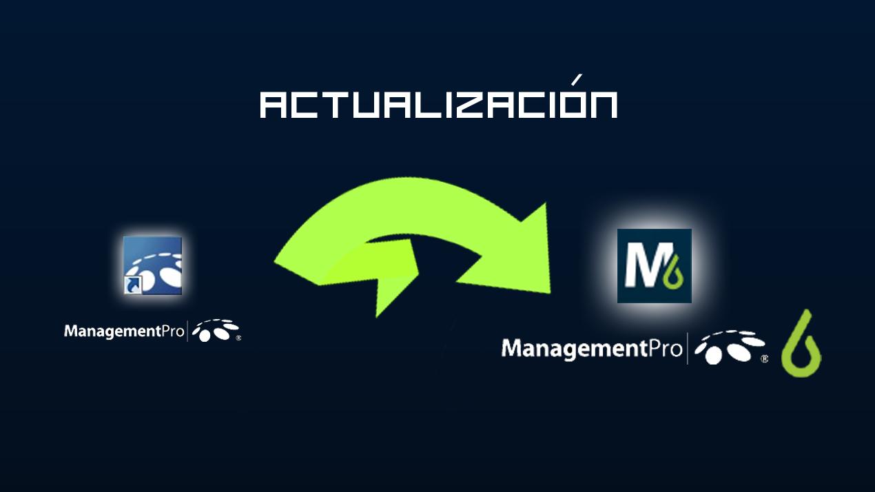 Actualización a ManagementPro v6