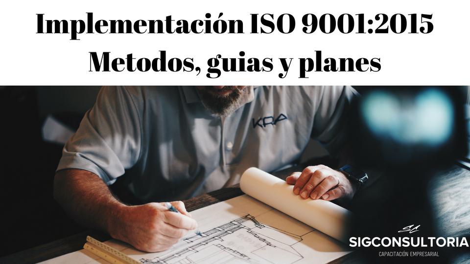 Procedimientos para ISO 9001:2015.