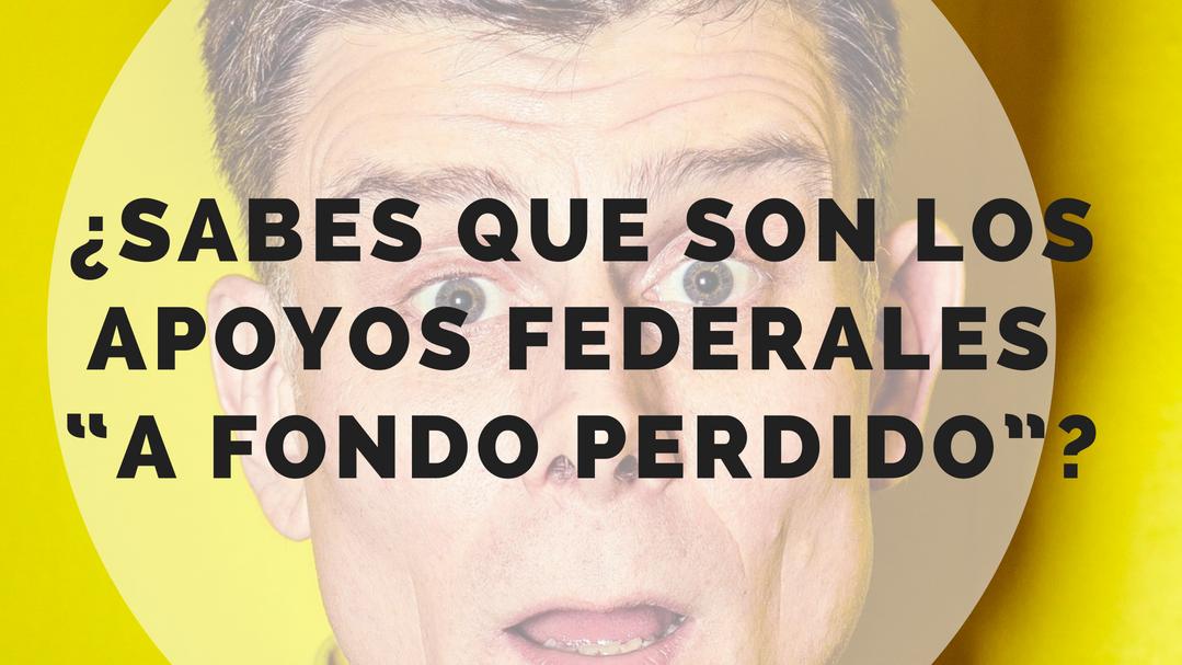 APOYOS FEDERALES - Proyectos de inversión a fondo perdido