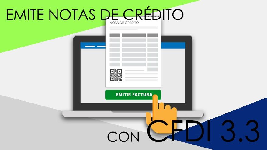 Capacitación para la emisión de Notas de crédito 3.3