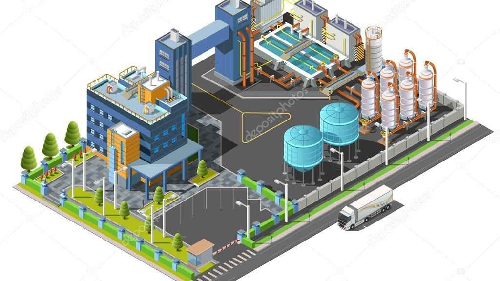 Diseño de plantas industriales en 2D y 3D