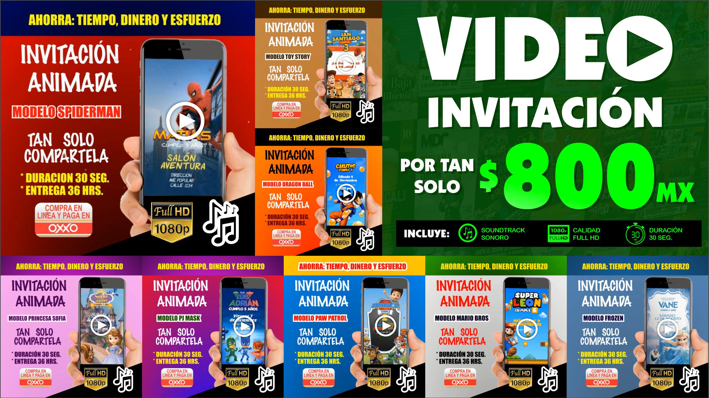 Creación de Video Invitaciones