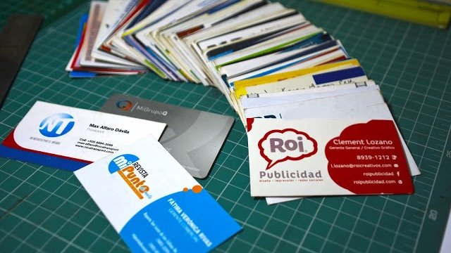 creación tarjetas de presentación