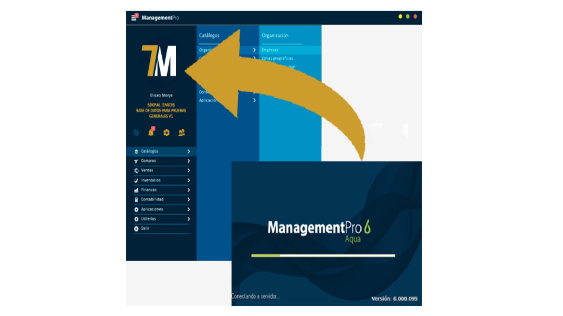 Actualización de ManagementPro 7 Terra