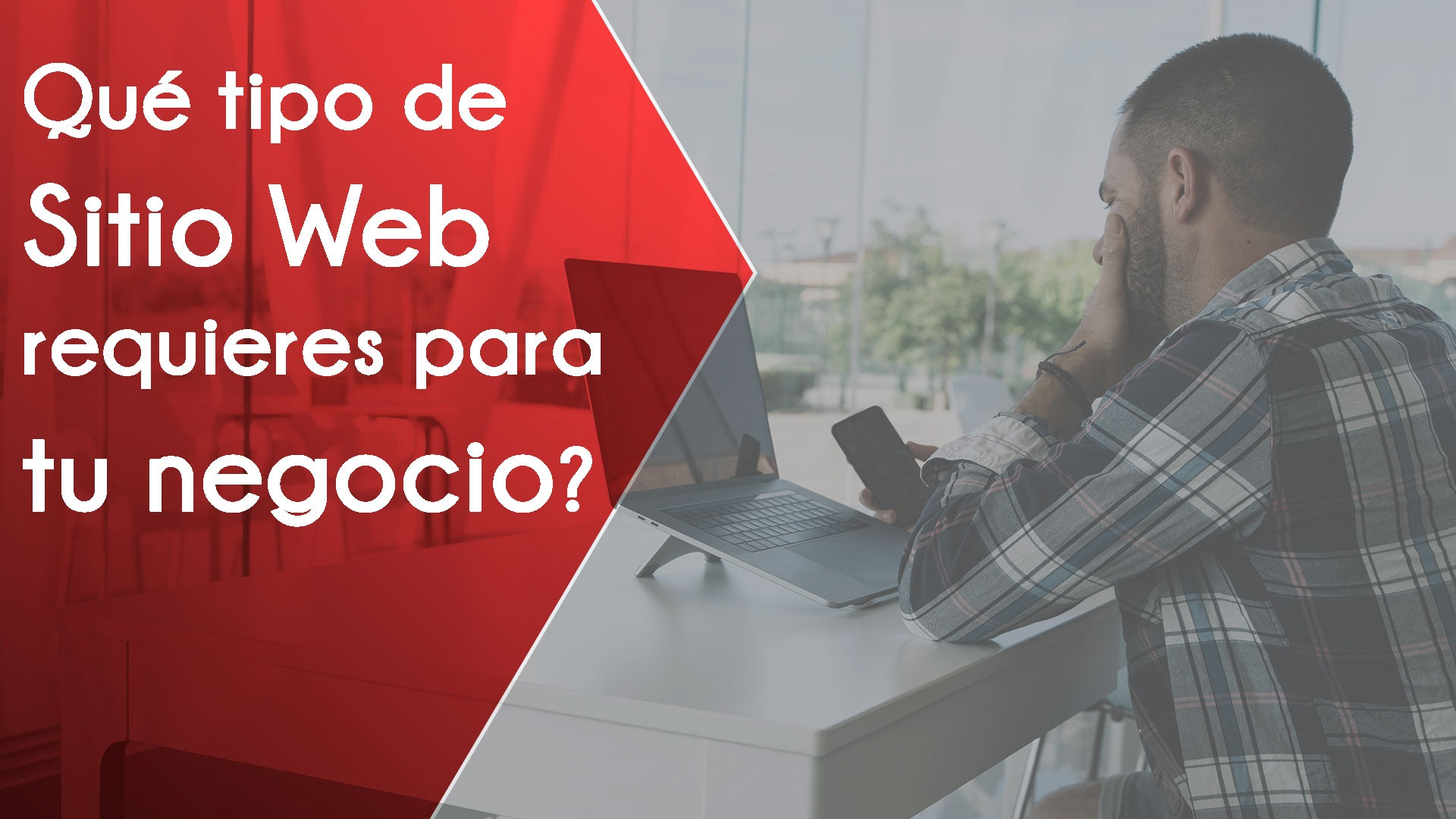 ¿Qué tipo de sitio web requieres para tu negocio?