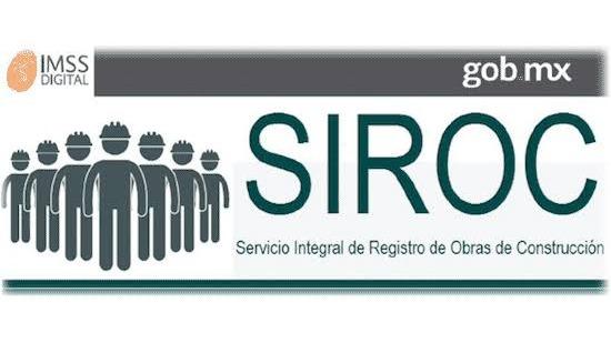 Alta de obra en SIROC